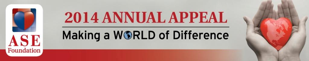 ASEF 2014 Appeal header