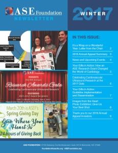 ASE 2017 Winter Newsletter-Cover